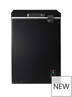 Candy CMCH100BUK 100-litre Chest Freezer - Black
