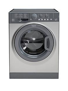 Hotpoint FML742G 7kg Load, 1400 Spin Washing Machine - Graphite