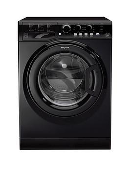 Hotpoint Fml742K 7Kg Load, 1400 Spin Washing Machine - Black
