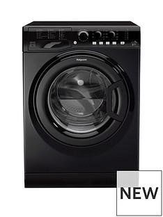 Hotpoint FML842K 8kg Load, 1400 Spin Washing Machine - Black