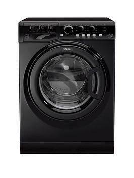 Hotpoint Fml842K 8Kg Load, 1400 Spin Washing Machine - Black Best Price, Cheapest Prices