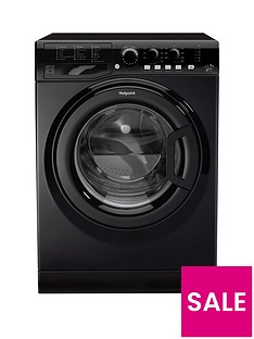 Hotpoint FML942K 9kg Load, 1400 Spin Washing Machine - Black