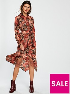 v-by-very-snake-twist-front-shirt-dress-printednbsp