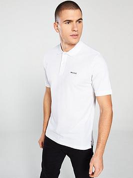 nicce-core-polo-shirt-white