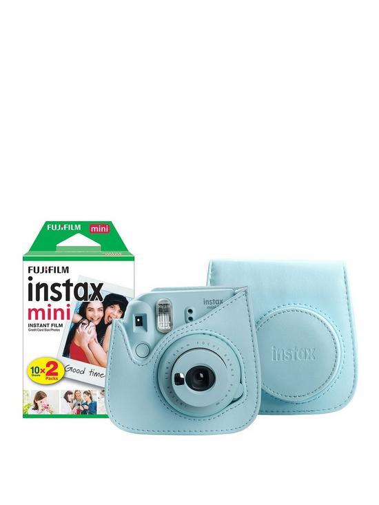 9dd400efe75f6 Instax Mini 9 Ice Blue Instant Camera Bundle
