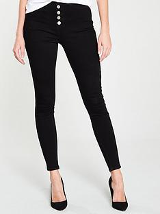 v-by-very-ella-exposed-button-fly-high-waist-skinny-jeans-black