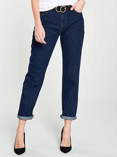 fa8cc30c31 V by Very Taylor Boyfriend Fit Jeans - Dark Wash