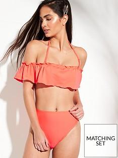 v-by-very-frill-edge-trim-bardot-bikini-top