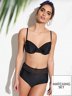 v-by-very-high-waisted-mesh-trim-bikini-briefs-ndash-black