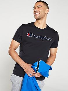 champion-crew-neck-t-shirt-black