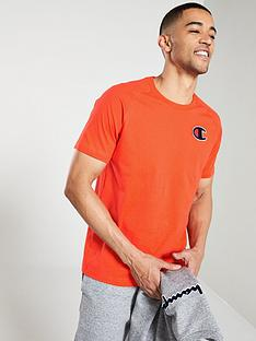 champion-crew-neck-t-shirt-orange