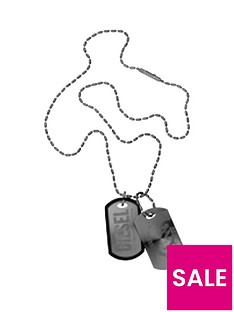 diesel-diesel-steel-black-and-silver-dog-tag-necklace
