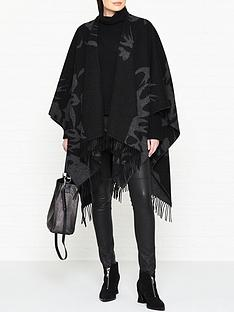 mcq-alexander-mcqueen-cut-up-swallow-print-cape-black