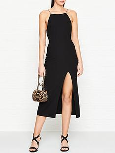 bec-bridge-margaux-low-back-dress-black
