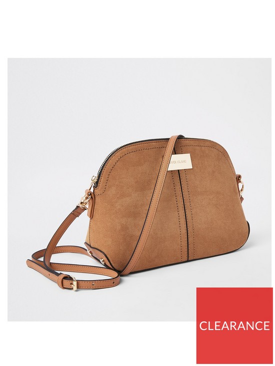 709b17a0c819 River Island Kettle Cross Body Bag - Tan