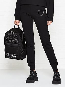 love-moschino-heart-logo-sweatpants-black