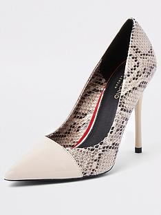 river-island-contrast-toe-court-shoe-snake