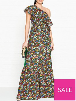 perseverance-london-poppy-liberty-print-one-shoulder-ruffled-gown-multicolour