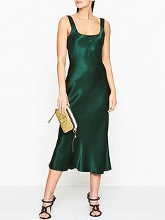 bec-bridge-martini-club-midi-slip-dress-green