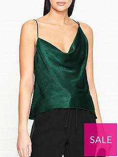 bec-bridge-martini-club-cami-top-green