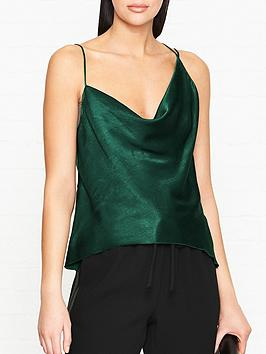 bec-bridge-martini-club-cami-top-green
