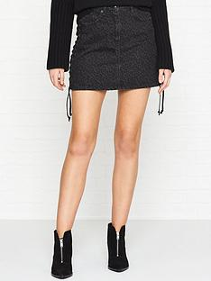 mcq-alexander-mcqueen-lace-up-leopard-mini-skirt-black