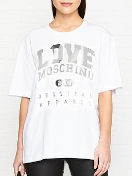 love-moschino-oversized-embossed-logo-t-shirt-white