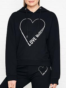 love-moschino-heart-logo-hooded-jumpernbsp--black