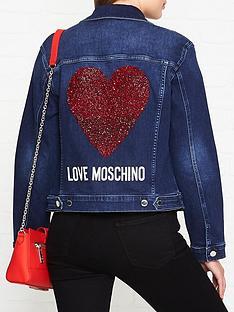 love-moschino-embellished-logo-denim-jacket-navy