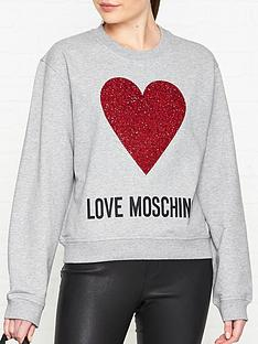 love-moschino-heart-long-sleeve-jumper-grey