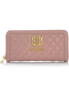 love-moschino-large-zip-around-quilted-wallet-blush