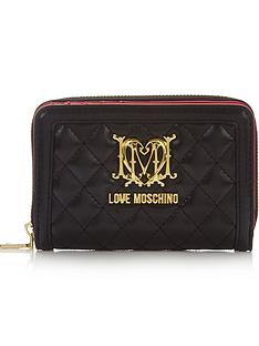 love-moschino-small-zip-around-quilted-wallet-black