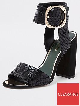 river-island-river-island-buckle-detail-heel-sandal-black