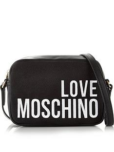love-moschino-logo-canvas-cross-body-bag-black