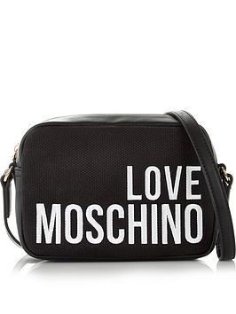 love-moschino-logo-canvas-cross-body-bag-black