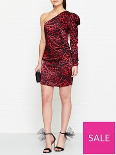bec-bridge-shes-a-maniac-cheetah-print-mini-dress-red