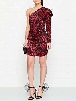 bec-bridge-shes-a-maniac-cheetah-print-mini-dress-red