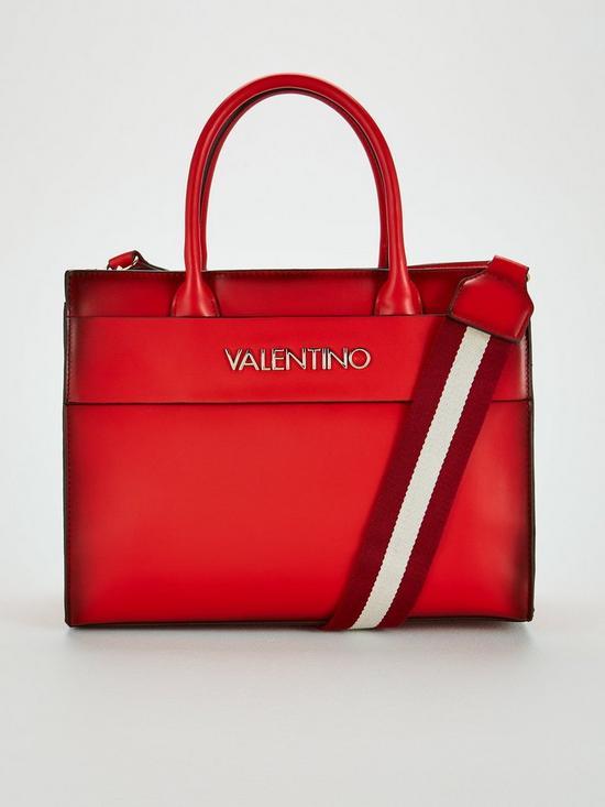 Valentino By Mario Valentino Blast Tote Bag - Red  8990b36e0589e