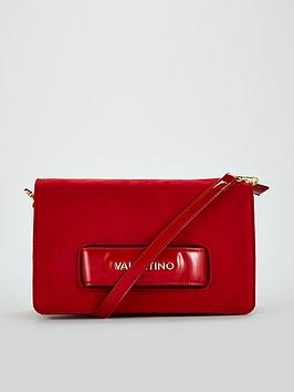 valentino-by-mario-valentino-scoop-suede-bag-red