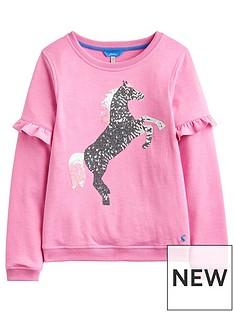 joules-girls-tiana-unicorn-frill-sweatshirt