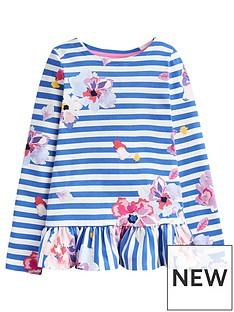 joules-girls-polly-long-sleeve-peplum-t-shirt