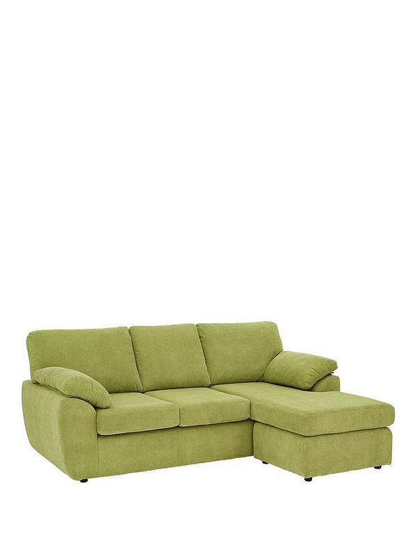 Astounding Dixie Fabric 3 Seater Reversible Corner Chaise Sofa Short Links Chair Design For Home Short Linksinfo