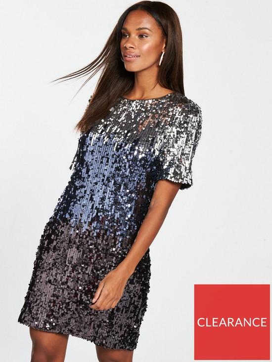 e180e19a020 Oasis Ombre Sequin Tube Dress Verycouk