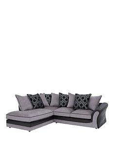 milan-faux-leather-and-fabric-left-hand-corner-chaise-scatter-back-sofa