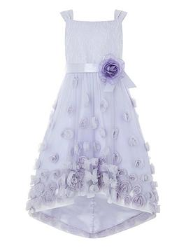 24aaad337 Monsoon Ethereal Flower Hi Low Dress - Female First Shopping