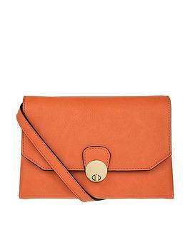 Accessorize Amie Crossbody Bag - Orange