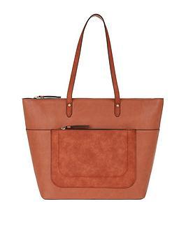Accessorize Emily Tote Bag - Orange