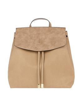 accessorize-nikki-backpack-tan