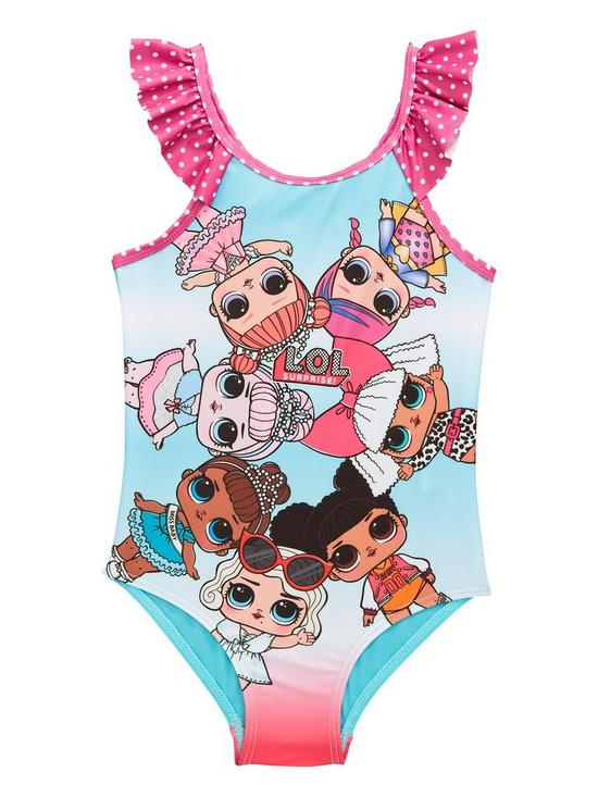 ef1eb90306 L.O.L Surprise! Lol Surprise Girls Swimming Costume | very.co.uk