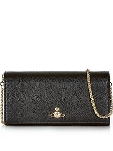 vivienne-westwood-balmoral-long-wallet-with-chain-black